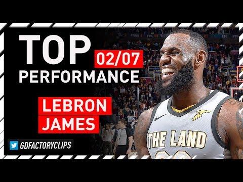 LeBron James INCREDIBLE Triple-Double Highlights vs MIN Timberwolves  - Game-WINNER | 2018.02.07