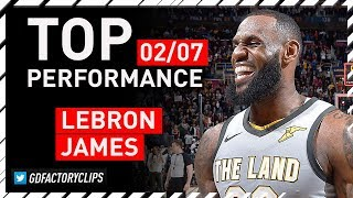 LeBron James INCREDIBLE Triple-Double Highlights vs MIN Timberwolves  - Game-WINNER | 2018.02.07