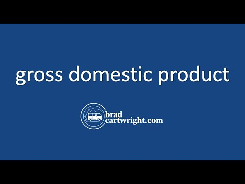 Fundamentals of Macroeconomics Series:  Understanding Gross Domestic Product