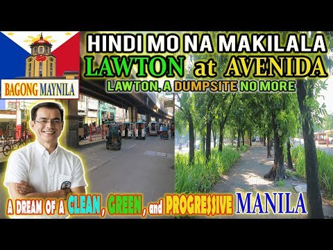 MAYOR ISKO EFFECT: LAWTON At AVENIDA, HINDI Na MAKILALA | BAGONG MAYNILA UPDATE