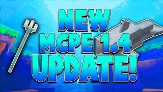 MCPE 1.4 UPDATE!!! - Minecraft PE (Pocket Edition)