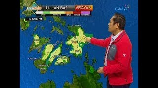UB: Weather update as of 6:14 a.m. (February 14, 2019)
