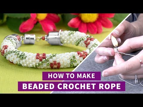 Artbeads Tutorial - Making Beaded Crochet Rope Jewelry