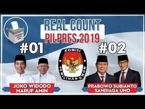 Hasil Sementara Pilpres 2019 Berdasarkan Scan C1 KPU PILPRES 2019 [ LIVE ] | Wonderdir Pilpres