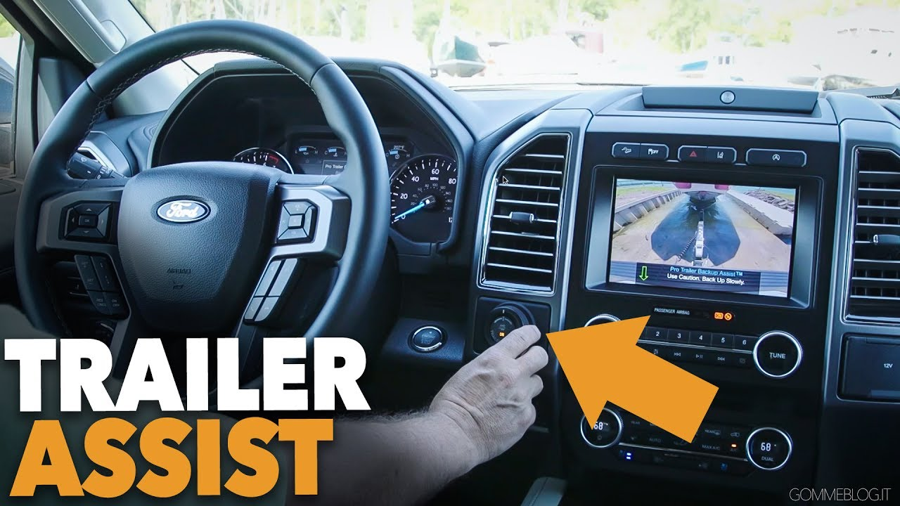 Ford Trailer Backup Assist >> 2018 Ford Expedition Featuring Pro Trailer Assist Youtube