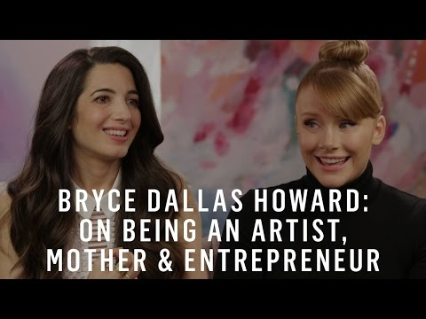 Bryce Dallas Howard & Marie Forleo: On Being An Artist, Mother ...