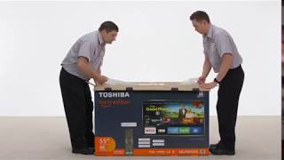 Toshiba 50 inch | 4K Ultra HD Smart |LED TV HDR | Fire TV Edition Electronics | 50LF621U19