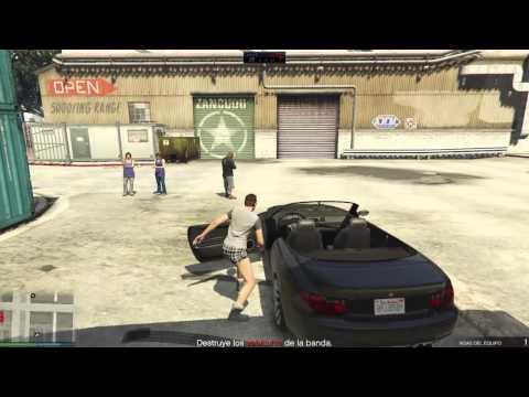 GTA V online Despistada y mala punteria
