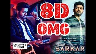 Sarkar Movie OMG Ponnu 8D Dj Remix Song
