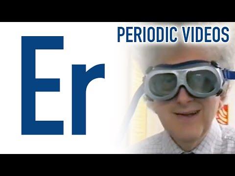 erbium periodic table of videos - Periodic Table Videos Youtube