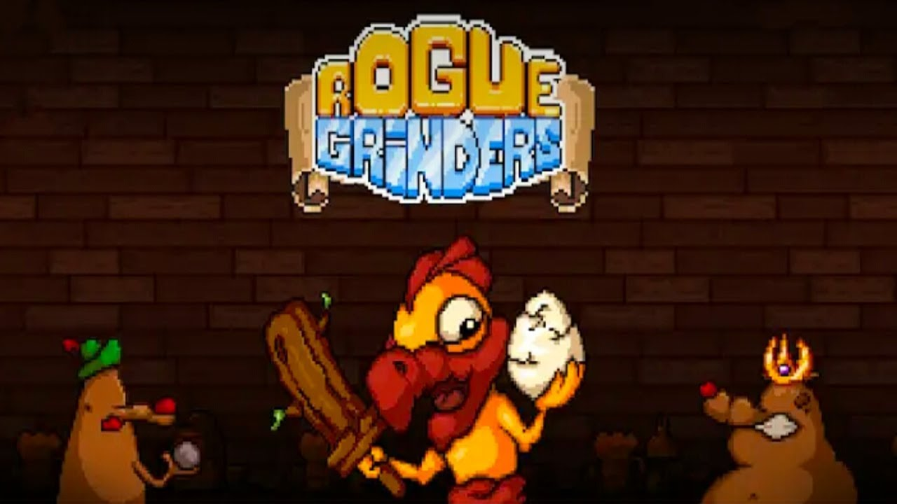 Rogue Grinders -Dungeon Crawler Roguelike RPG Android Gameplay ᴴᴰ