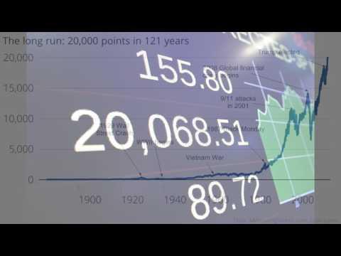 NYSE  Dow Jones  hits 20000 points  Mark a major milestone
