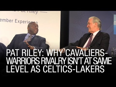 Pat Riley: Why Cavaliers-Warriors Rivalry Isn