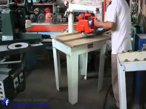 Sierra radial de walt 1 5 hp americana maquinas para for Cortar madera con radial