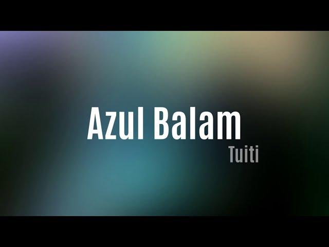 Tuiti // Azul Balam // Live im Vinyl Reservat