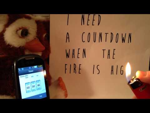 Tokyo Police Club - I need a countdown when the fire is high