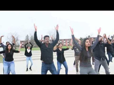 Indian Student Association @ Northern Illinois University| Flashmob | Spring 2017 | Kalakriti