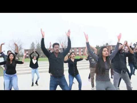 Indian Student Association @ Northern Illinois University| Flashmob | Spring 2017 | Kalakriti