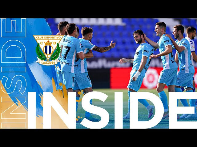 📹 INSIDE | El Leganés vence por 2-1 al Sabadell