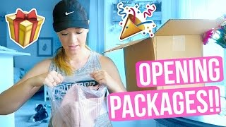 OPENING PACKAGES!!!!