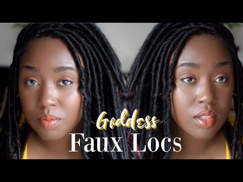 BEST Braid Technique For Goddess Locs | Divatress