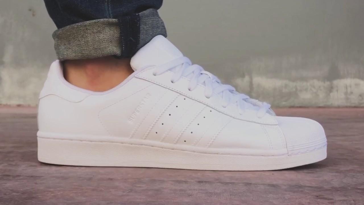 Acostado debajo Así llamado  adidas Superstar Foundation | Sneaker10 - YouTube
