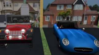 English for beginners - American and British English. Part I:  Motor vehicles