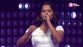 Sharayu Mukul Date – Vajle ki Barah | The Blind Auditions | The Voice India 2