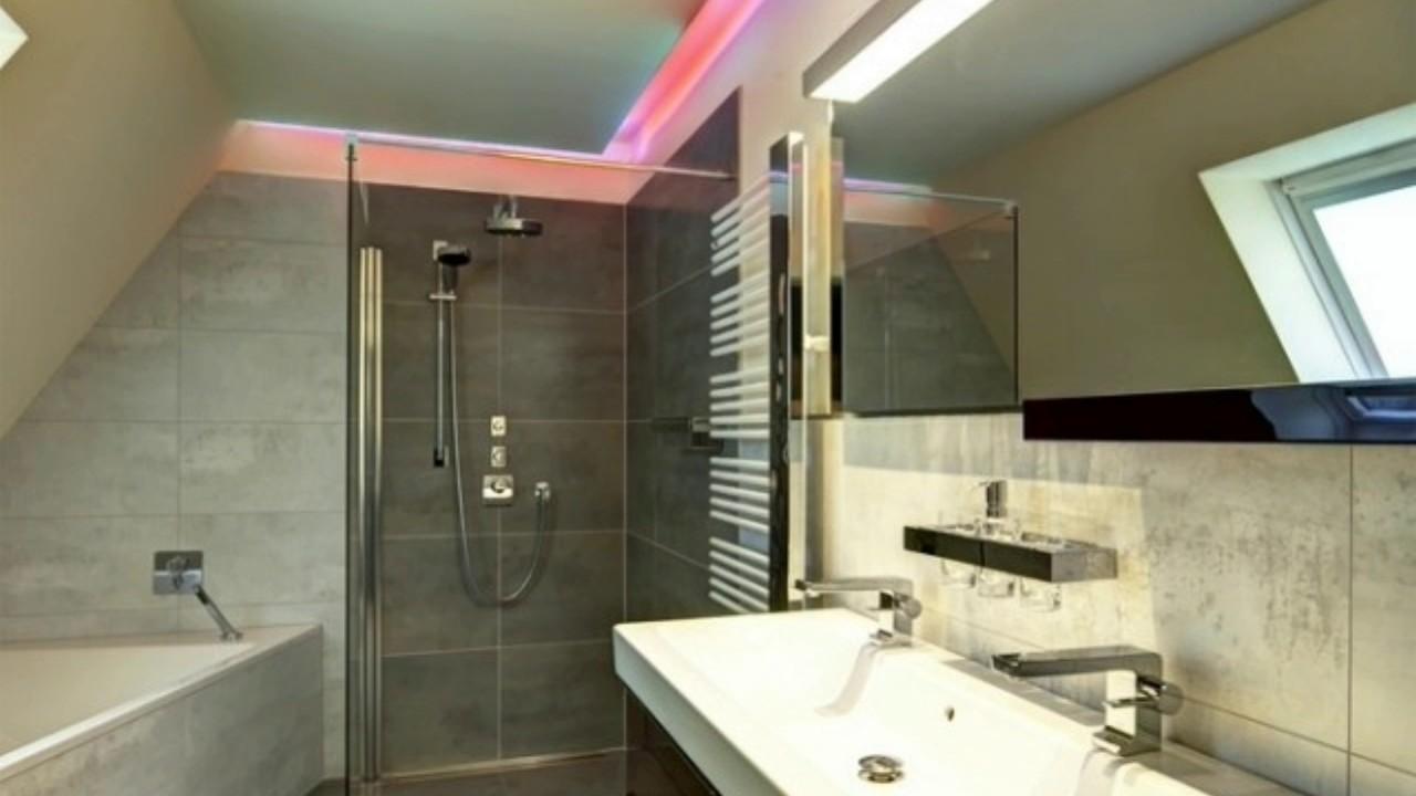 Badezimmer Beleuchtung Decke Led  YouTube