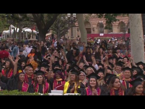2018 USC Suzanne Dworak-Peck School of Social Work Commencement – 11:30 am