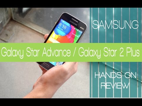 Samsung Galaxy Star Advance / Galaxy Star 2 Plus (SM-G350E) with Android KitKat 4.4 Hands On Review.