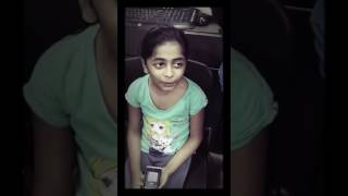 Small girl amazing voice-Senthoora song