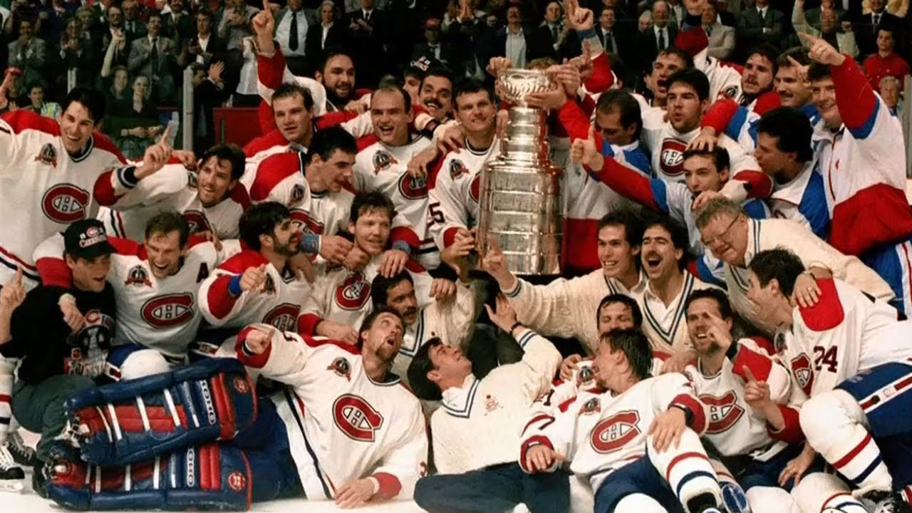 Top highlights from 1993 Canadiens Stanley Cup win - YouTube