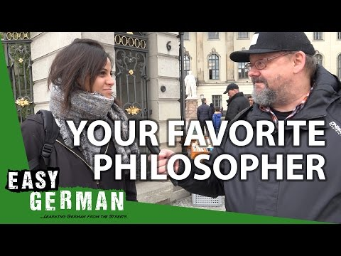 Your favorite Philosopher | Easy German 193