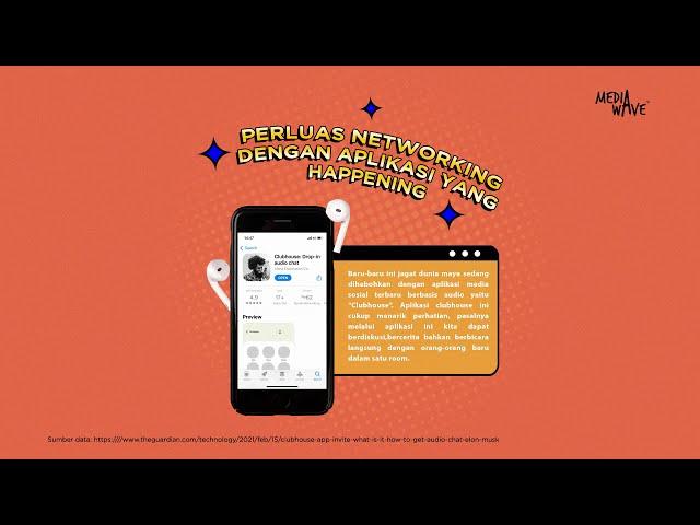 Cari Networking Dengan Aplikasi Yang Happening (Clubhouse)