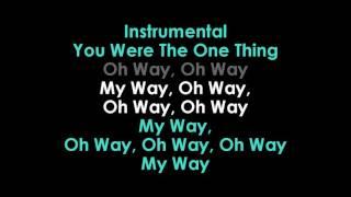 My Way by Calvin Harris karaoke Mp3