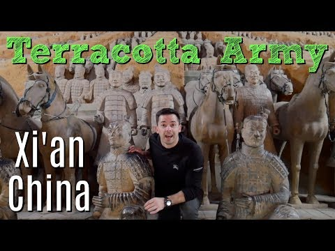 Terracotta Warriors in Xi'an Shaanxi China // A Private Tour!