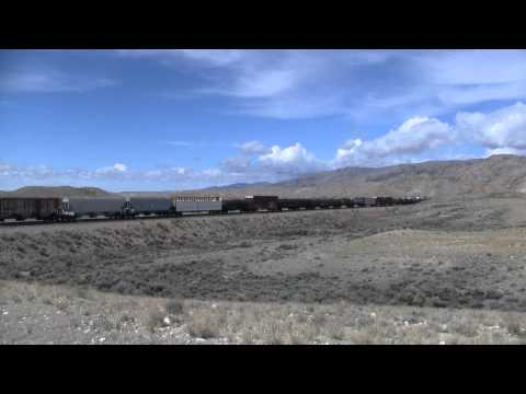 Bahnstrecke Shoshoni-Thermopolis-Worland/WY - Wind River Canyon