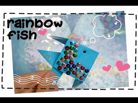 Rainbow Fish Origami   Easy Instructions For Kids
