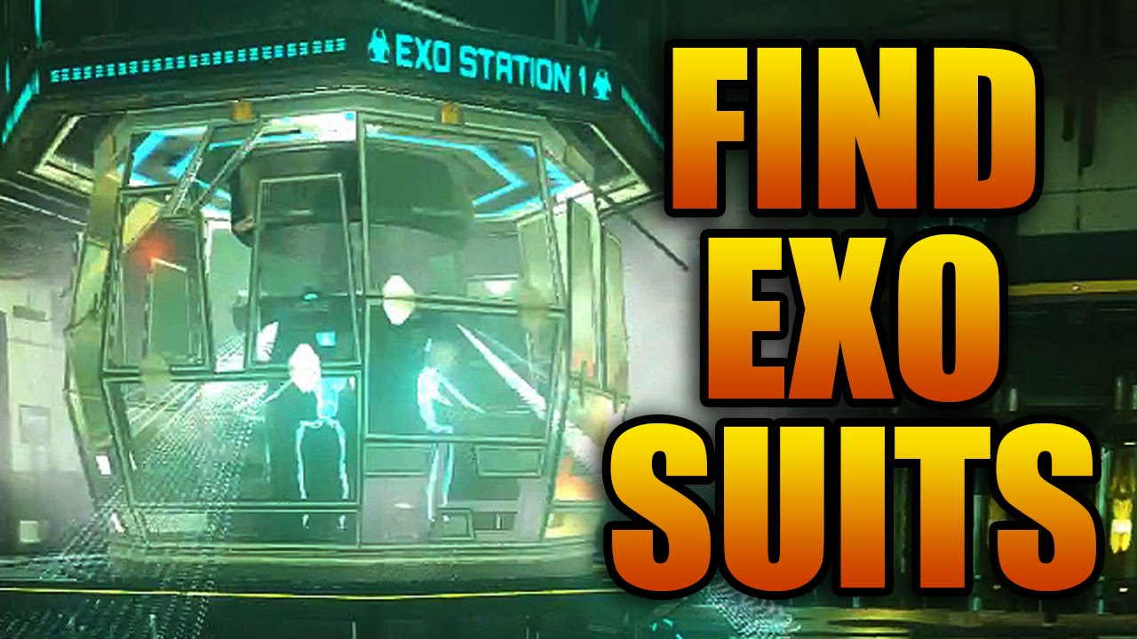 How To Get The Exo Suit In Advanced Warfare Zombies Mode Youtube