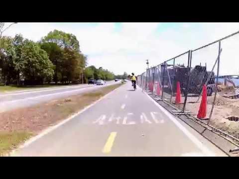 East Bay Bike Path Virtual Cycling May 2016 Southbound