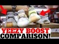 adidas YEEZY BOOST 350 V2 SESAME vs BUTTER vs CREAM Comparison!