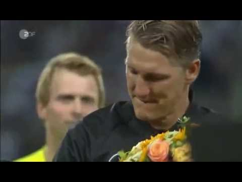 Bastian Schweinsteiger Last Match - Germany vs Finland 31-08-2016