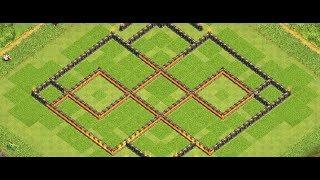 Clash Of Clans [HDV10] village + défenses