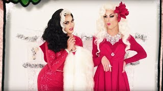 Смотреть клип Manila Luzon & Alaska Thunderfuck - Working Holiday From Christmas Queens 2