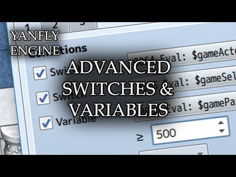 YEP 162 - Advanced Switches and Variables - RPG Maker MV