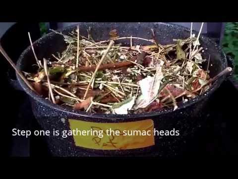 HOW TO MAKE SUMAC DYE
