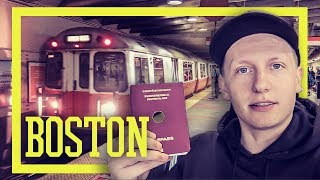 Boston Trip 2017 - ALLEINE IN DIE USA - Hostel, TD Garden, Chinatown [VLOG]