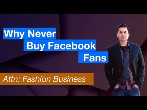 Why Fashion Nds Should Never Buy Facebook Fans