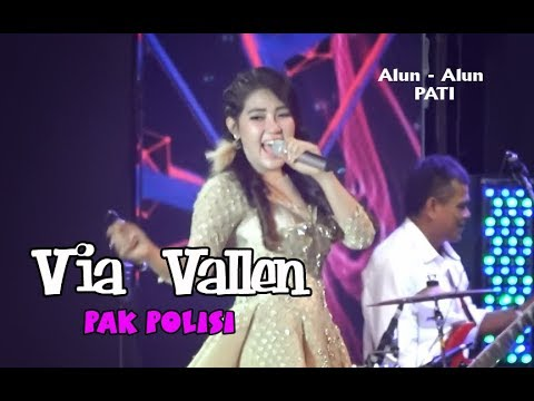 Via Vallen - Pak Polisi LIVE Alun - Alun Simpang Lima Pati